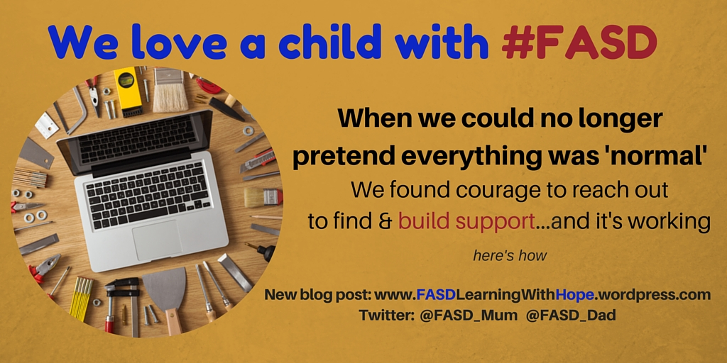 We could no longer pretend everything was 'normal'We started to reach out about our son's FASD diagnosisAnd that changed everything.