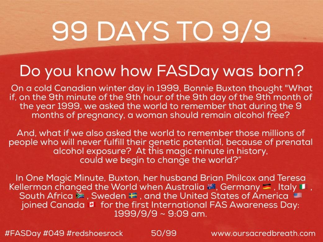 Day 59 0f 99 days to FASDay
